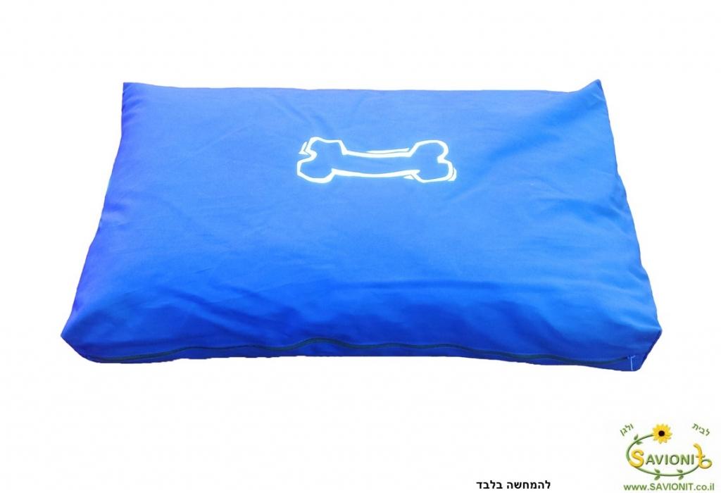 מזרן לכלב כחול להמחשה בלבד