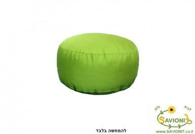 הדום ישיבה דוחה מים צבע ירוק תפוח 109 להמחשה בלבד