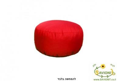 הדום ישיבה דוחה מים צבע אדום 102 להמחשה בלבד