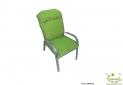 ריפוד לכיסא גן ירוק תפוח להמחשה בלבד