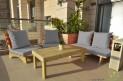 פינת זולה ענקית מושבים חלקים צבע אפור