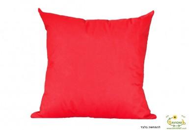 כרית זולה / משענת צבע אדום 2 להמחשה בלבד