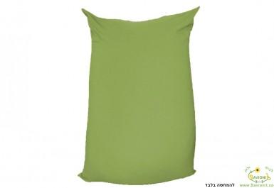 פוף גדול ירוק אבוקדו להמחשה בלבד