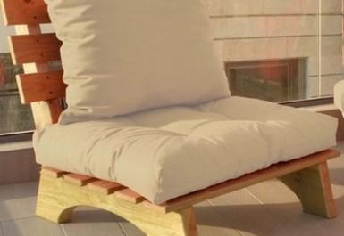 ספסל זולה קפיטונז' דוחה מים צבע 103 בז' להמחשה בלבד