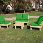 פינת זולה גבוהה צבע ירוק דשא
