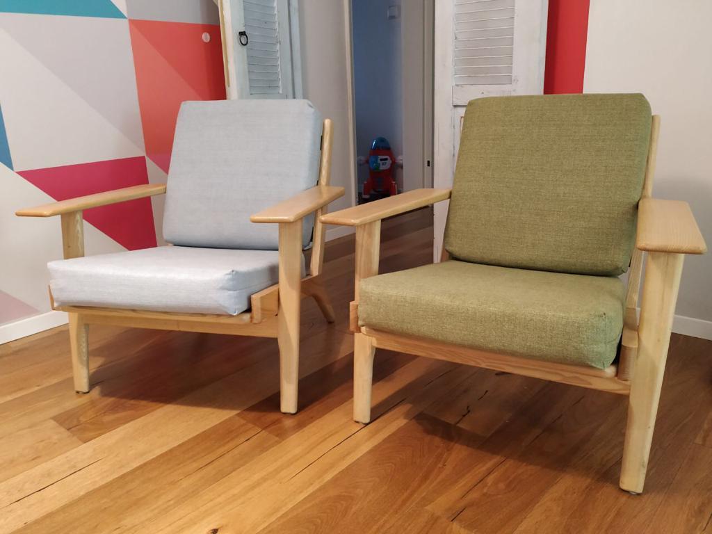 חידוש ריפוד לכורסאות בבדי ריפוד