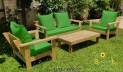 סט פינת ישיבה וויד צבע ירוק דשא 124 להמחשה בלבד