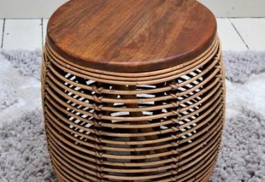שולחן צד עגול דגם בון