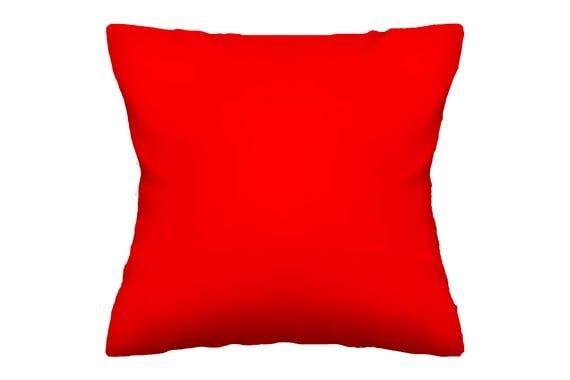 כרית נוי 50/50 צבע אדום 102