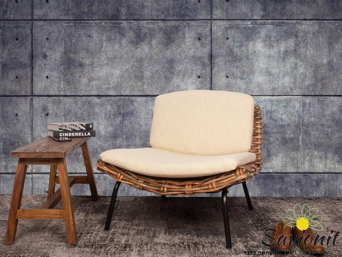 כורסא מראטן טבעי דגם California