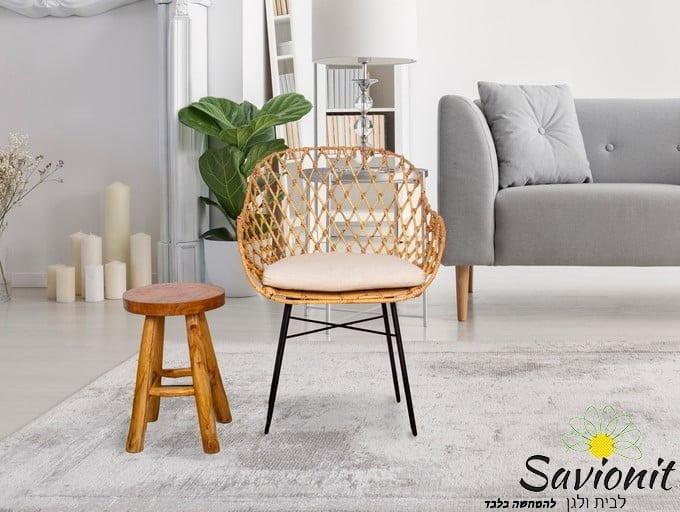 כורסא מעוצבת מראטן דגם Yohan