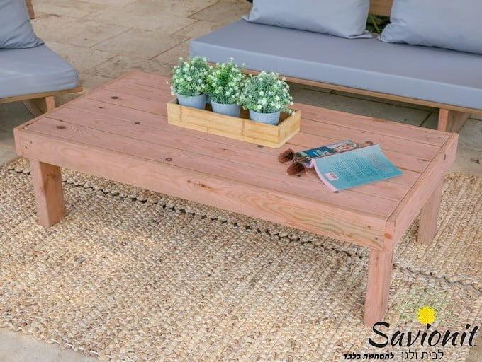 שולחן זולה גדול חיטוי חום אדמדם